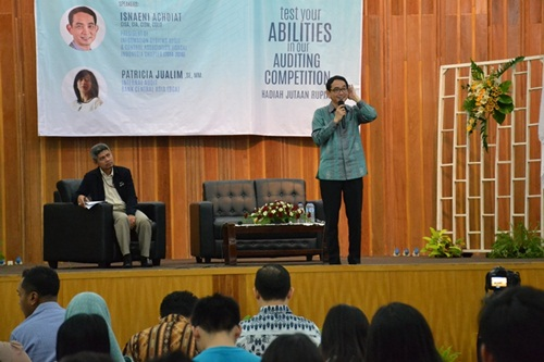HMP SI Gelar Seminar dan Kompetisi Audit IT